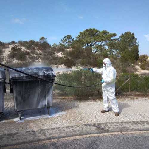 Equipment washing and disinfection