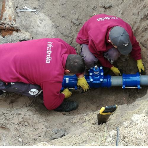 Remodelações na Rede de Água